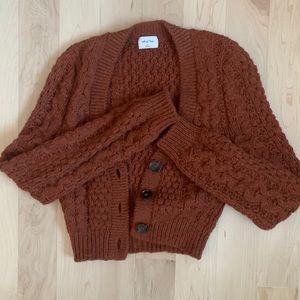 Aritzia Adley sweater rustwood